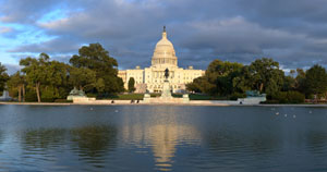 Panoramic Images West Front, Capitol, Fall, Autumn